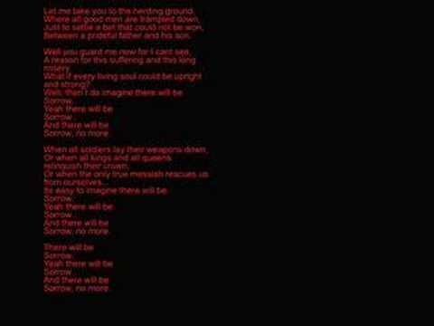 Tekst piosenki Bad Religion - Sorrow (deutsche) po polsku