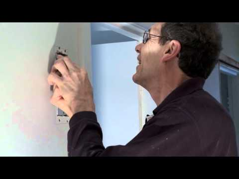 plaster repair - Some handy tips for working with plaster. Step-by-step guide to repairing a hole in a plaster wall, with The Shed Online's expert plasterer, Herman. Read mor...