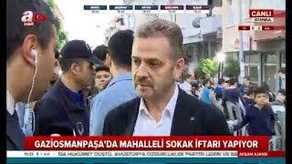 Gaziosmanpaşa'da Sokak İftarı - A Haber