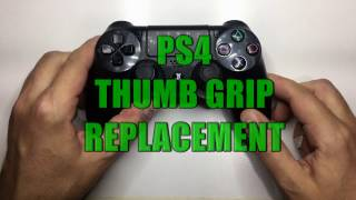 Worn out or ripped thumb grips are extremely annoying. Luckily there's a solution under $10.  Tools and parts can be found below.PS4 Thumb Grips - http://amzn.to/2lvjNpCRubber Glue - http://amzn.to/2mwocOj(The glue isnt that important / you can you anything that has strength lying around home)Scissors or Stanley Knife