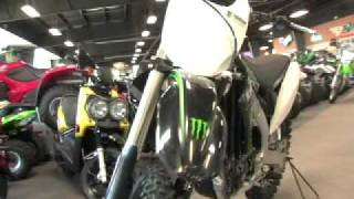 5. 2009 KAWASAKI KX450 MONSTER