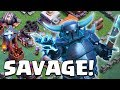 THE MOST SAVAGE PLAYER IN CLASH OF CLANS | Builder Hall 5 Unlocked