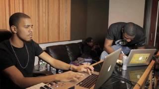 360 & J.Cole In The Studio
