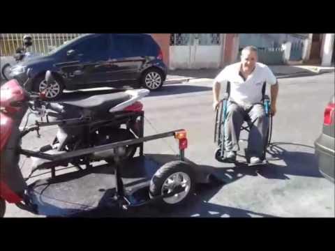 Cadeira de rodas motorizada Plataforma do Sergio de Godoy Moreira PR
