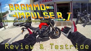 9. Brammo Empulse R Review & Testdrive - Walkaround and first Impressions