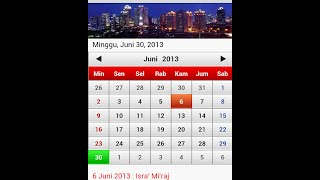 Kalender Indonesia YouTube video