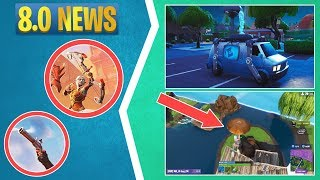 Fortnite News: Second Chance Van, The Baller Vehicle, Ranked Rewards, Recurve Bow, & More