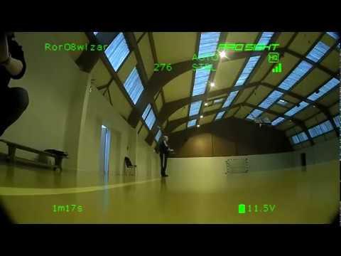 Eric :premiers vol de test du Eachine Wizard X220S de chez Banggood monté avec un système vidéo HD de chez connex prosight..Merci Mickaël de ta participation et merci Christian pour la galette bon anniversaire