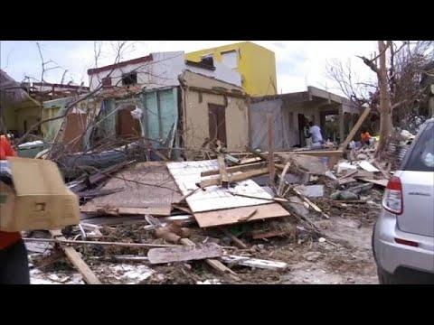 Άγιος Μαρτίνος: Λεηλασίες μετά την Ίρμα