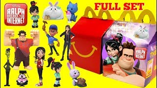Nonton Ralph Breaks The Internet Movie 2018 Mcdonalds Happy Meal Toys Full Set Film Subtitle Indonesia Streaming Movie Download