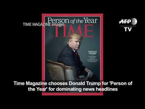 Списание Time избра Доналд Тръмп за човек на годината