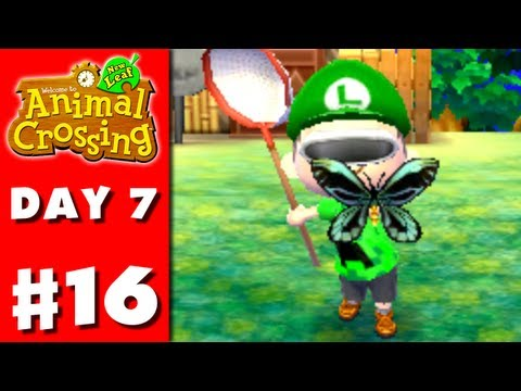 Nintendo - Thanks for every Like and Favorite! They really help! This is Part 16 of the Animal Crossing: New Leaf Gameplay Walkthrough for the Nintendo 3DS! On Day 7, i...