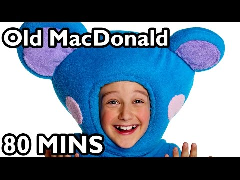 """mother - Old McDonald Had a Farm and More Nursery Rhymes! Take a hayride through 110 minutes of your favorite Mother Goose Club nursery rhyme hits when you watch """"Old..."""