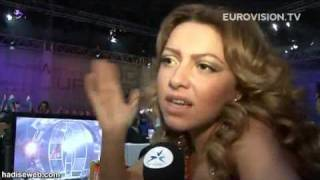 Hadise Eurovision Final Performansı Sonrası Röportaj