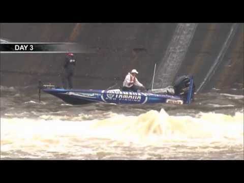 Jared Miller - Jared Miller at Jordan Dam north of Wetumpka Alabama during Day Three of the Alabama River Charge presented by Star brite. When he tried to leave the area, t...