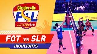 Highlights: Foton vs. Sta. Lucia | PSL All-Filipino Conference 2018