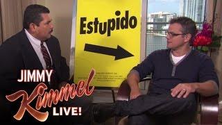 Video Guillermo Crashes Matt Damon Interview MP3, 3GP, MP4, WEBM, AVI, FLV Juni 2018
