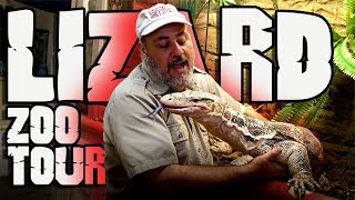 Lizard Zoo Tour + Baby Snakes Hatching by Prehistoric Pets TV