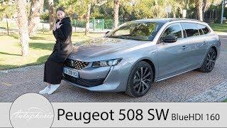 6. 2019 Peugeot 508 SW BlueHDI 160 GT-Line Fahrbericht / Schön aber auch praktisch? - Autophorie