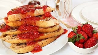 Vegan French Toast | Brunch Month by The Domestic Geek