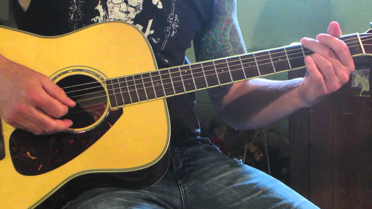 Staind – It's Been Awhile – Acoustic Guitar Lesson
