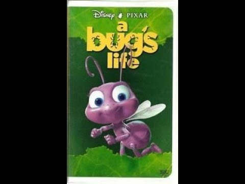 Opening to A Bug's Life 1999 VHS (HQ)