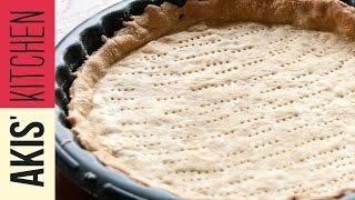 Savory Tart Dough | Akis Kitchen by Akis Kitchen