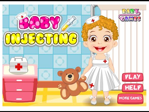 Baby Games Online –  Baby Injection Hygiene Game