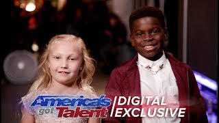 Elimination Interview: Artyon & Paige Thank America For Their Support - America's Got Talent 2017