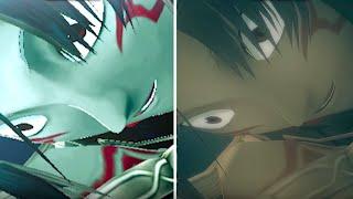 .Hack//G.U. Last Recode Official Graphic Comparison Video