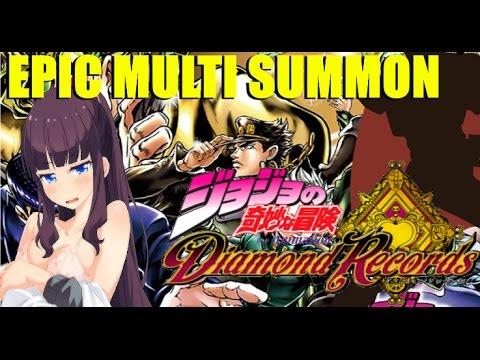EPIC DIAMOND RECORDS MULTI SUMMON: You'll never believe my luck!!!! (видео)