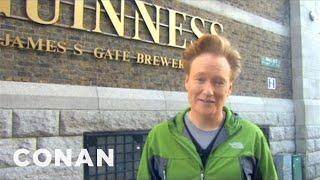 Video Conan Visits The Dublin Guinness Brewery - CONAN on TBS MP3, 3GP, MP4, WEBM, AVI, FLV Februari 2019