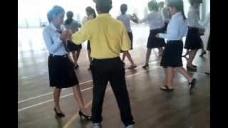 เต้นลีลาศ จังหวะบีกิน (ฺBegin Dance step).mp4