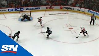 Rudolfs Balcers Finishes Off Slick Tic-Tac-Toe Play For Senators Against Blackhawks by Sportsnet Canada