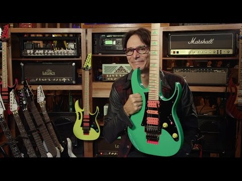 "Steve Vai - ""30 Years Of The Ibanez JEM"""