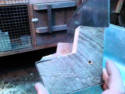 Видео кормушки для кроликов своими руками фото чертежи