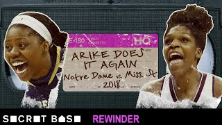 Arike Ogunbowale's back-to-back buzzer-beating shots need a deep rewind | Notre Dame 2018 Final Four by SB Nation