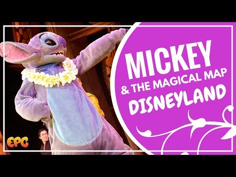 Mickey and The Magical Map 2017 Disneyland Live Stage Show HD Highlights