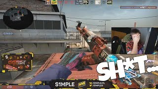 When S1mple streams #9 (Stream highlights, Funny moments , Insane plays ...) #CSGO