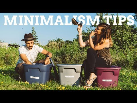 Minimalism Tips For Beginners | How to Downsize Your Life