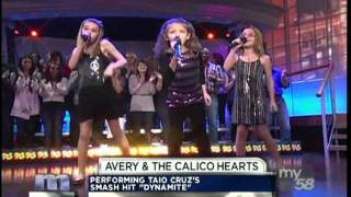 Avery and The Calico Hearts on the Maury Show