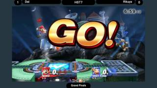 Hokkaido Smash Tournament 7 Grand Finals: Dai (Mario) vs. Rikuya (Diddy Kong)