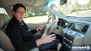 2012 Nissan Murano Test Drive&Crossover SUV Review