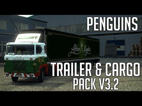 Penguins Trailer and CargoPack v3.3