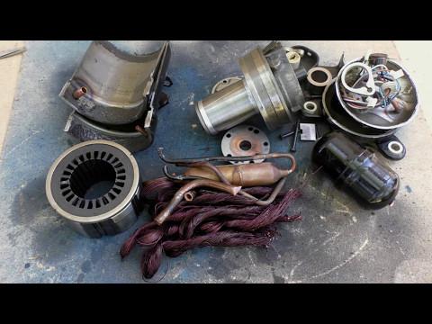 Как разобрать старый компрессор от бк 2500 на лом - DomaVideo.Ru