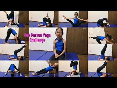 One Person Yoga Challenge   By: YURI