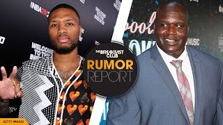 Shaquille O'Neal Barks At Damian Lillard In Diss Track