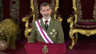 Discurso de Su Majestad el Rey en la Pascua Militar