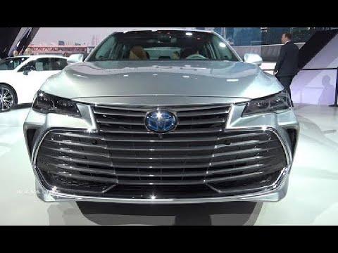 العرب اليوم - سيارة تويوتا افالون 2019 بهيكل قوي وتصميم حديثة