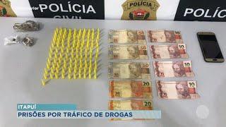 Quatro presos por tráfico de drogas em Itapuí